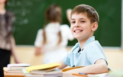 Szczęśliwy uczeń