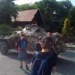 Wycieczka - pojazd wojskowy