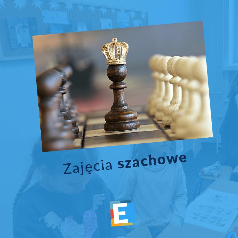 Zajęcia szachowe organizowane w szkole podstawowej