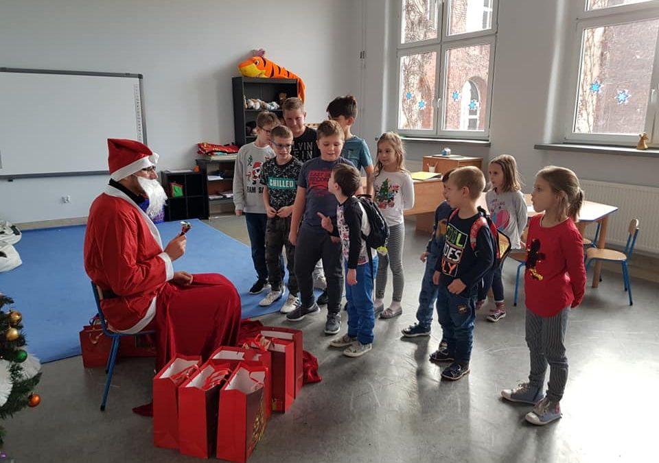 Mikołaj zawitał do naszej szkoły!