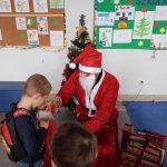 Święty Mikołaj na świetlicy