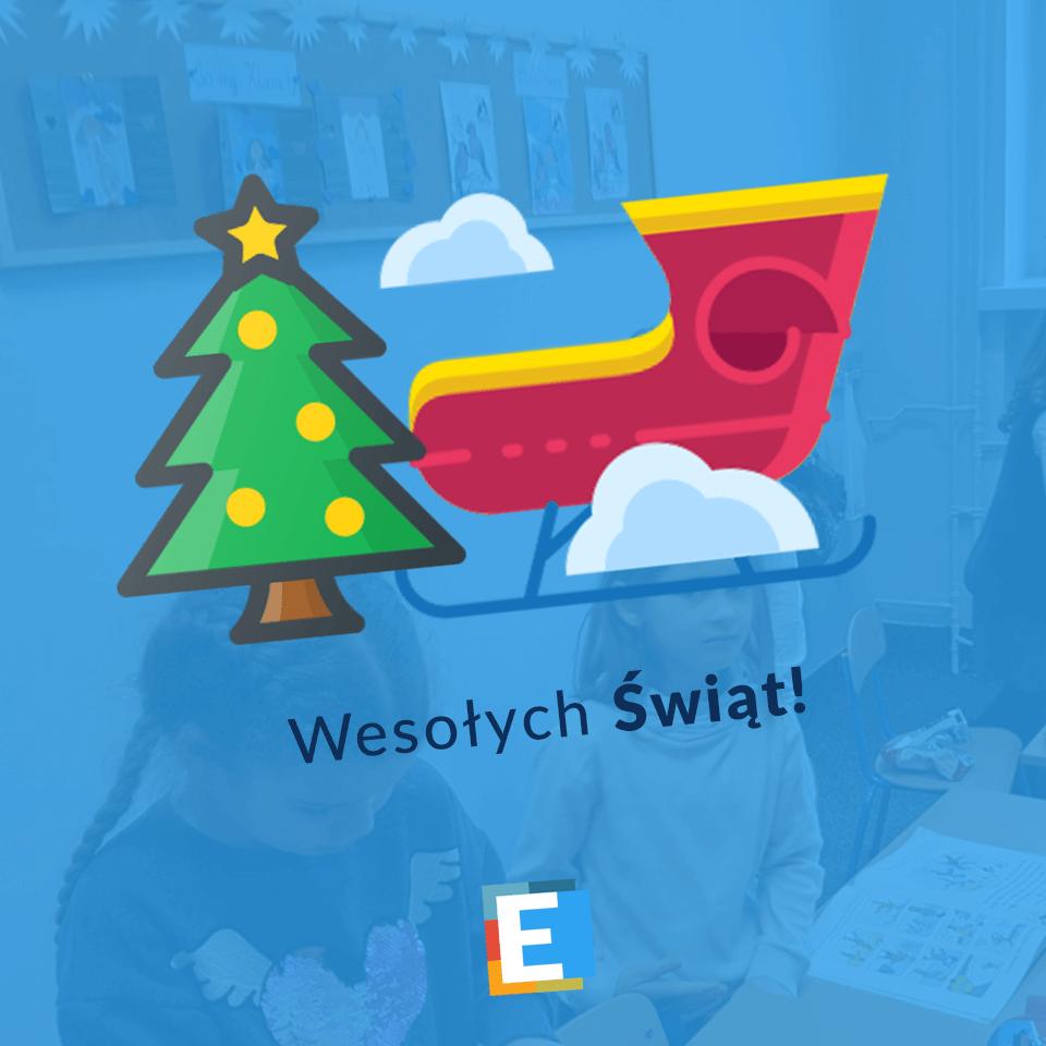 Życzenia świąteczne od SP Edukacja we Wrocławiu