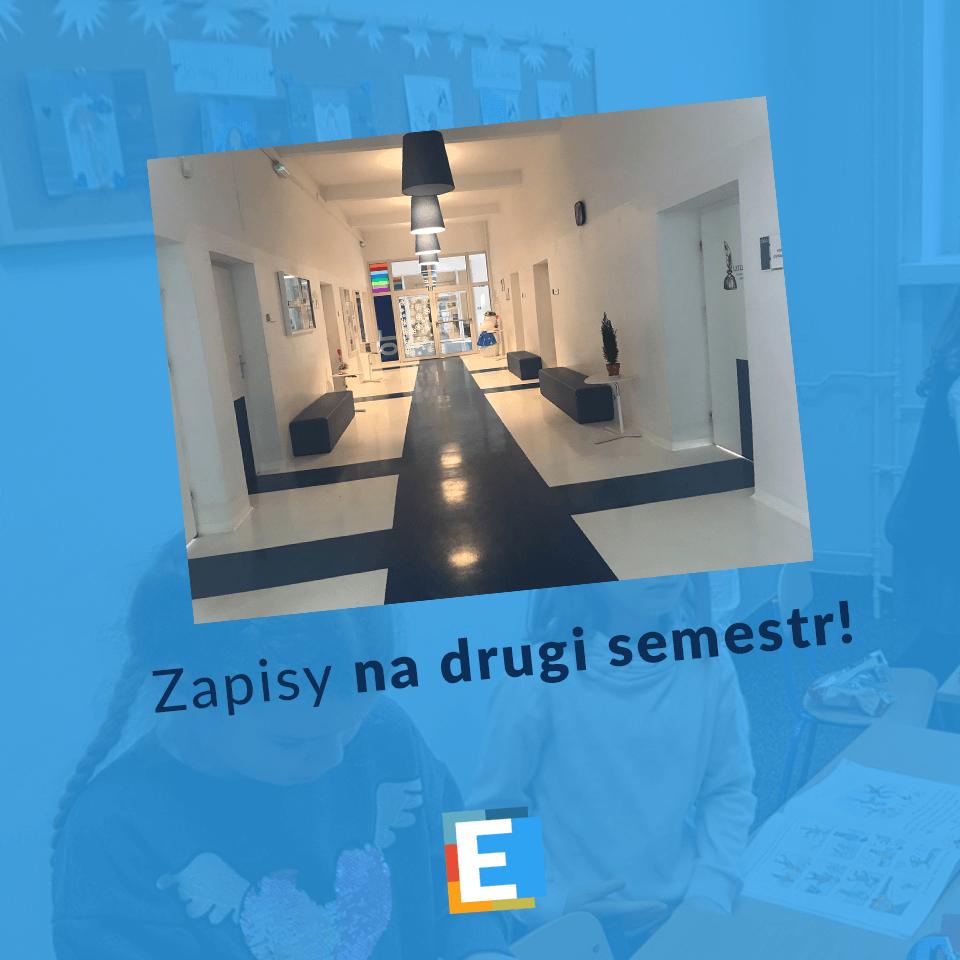 Rekrutacja na drugi semestr w SP Edukacja we Wrocławiu
