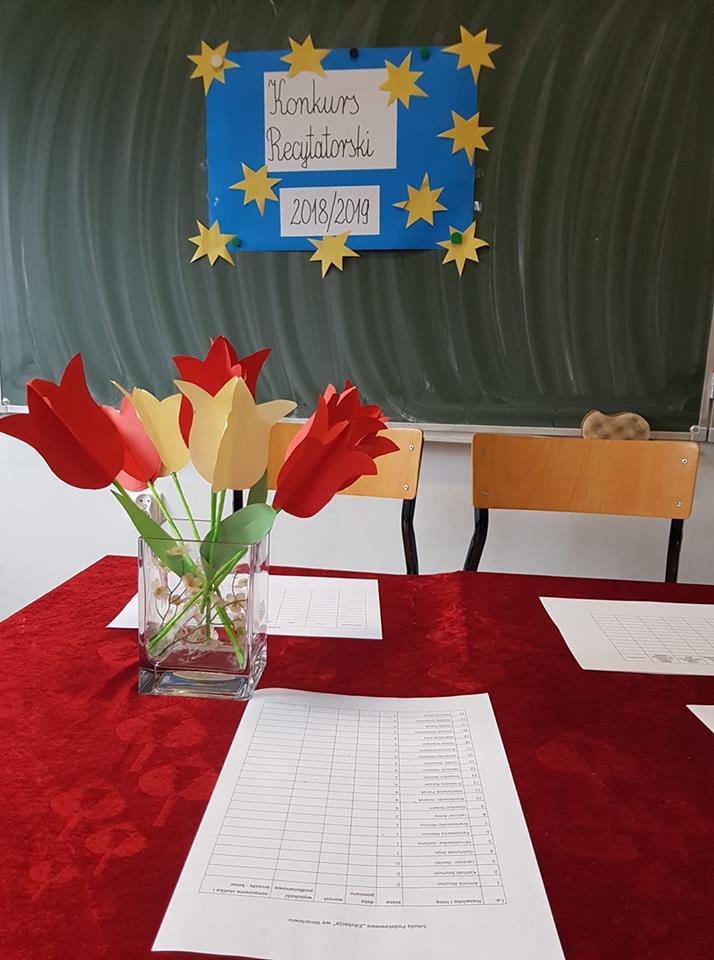 Konkurs recytatorski w Szkole Podstawowej Edukacja we Wrocławiu