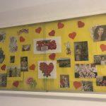 Dekoracje na korytarzu SP Edukacja