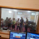 Wycieczka do studia nagrań we Wrocławiu