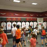 Wizyta uczniów na stadionie