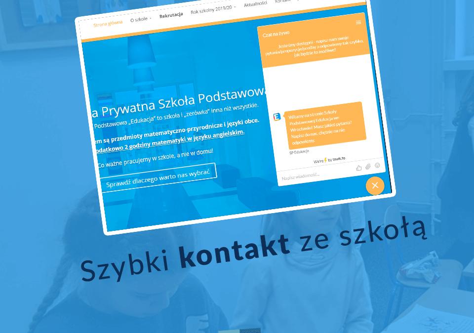 Szybki kontakt z SP Edukacja