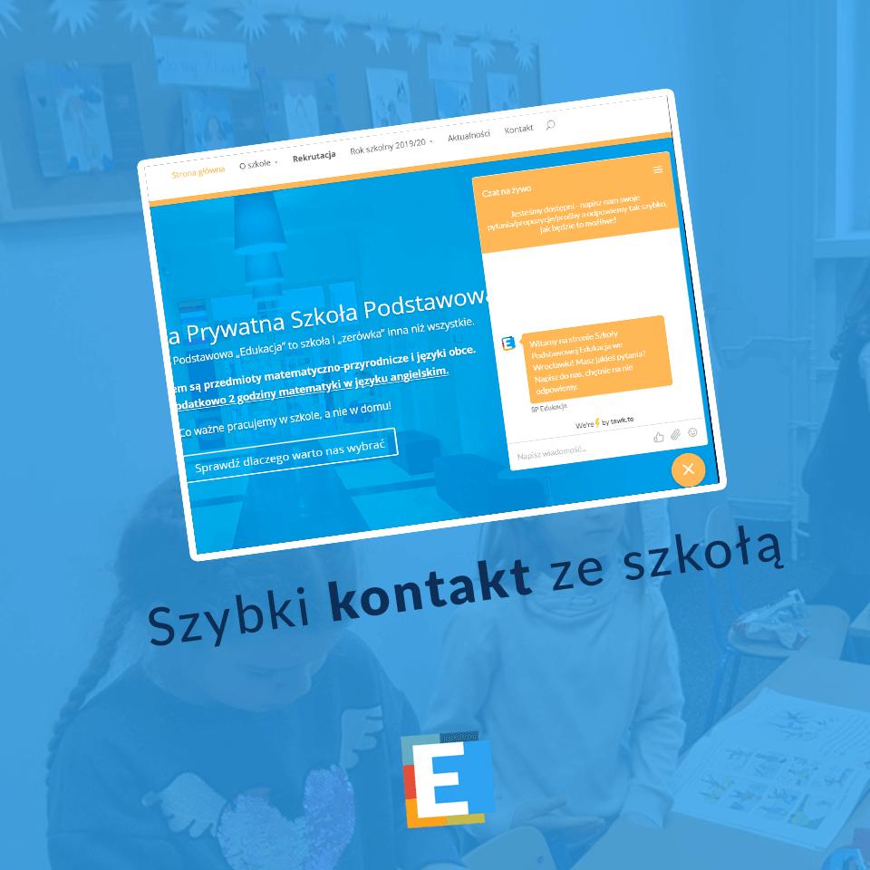 Szybki kontakt z SP Edukacja we Wrocławiu