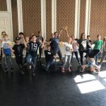 Uczniowie SP Edukacja na tańcach
