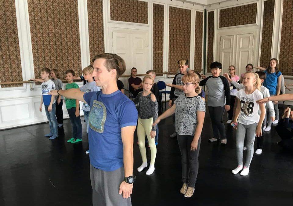 Zajęcia taneczne w Capitolu