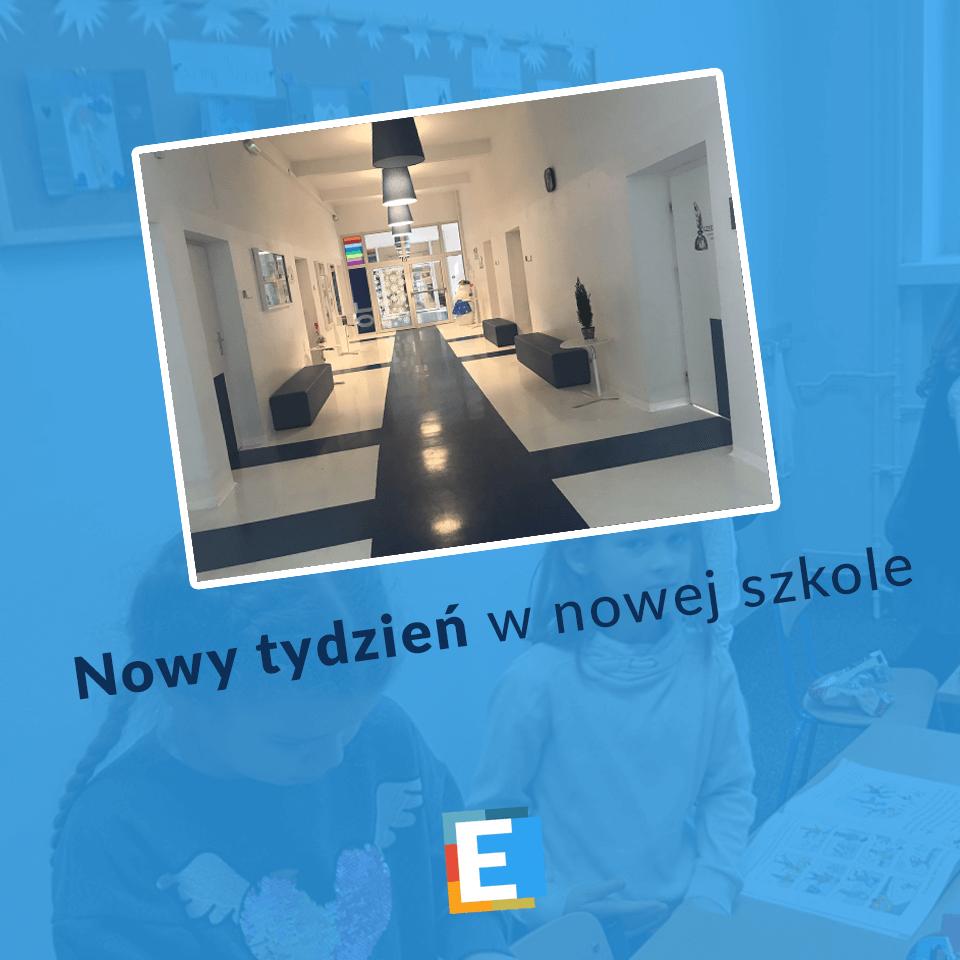 Nowy tydzień w SP Edukacja we Wrocławiu
