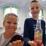 Dzieci z SP Edukacji podczas zabawy