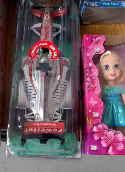 Nowe zabawki w świetlicy dla Maluchów