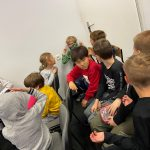Dzieci podczas akademii