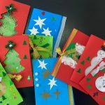 Pocztówki świąteczne w podstawówce we Wrocławiu