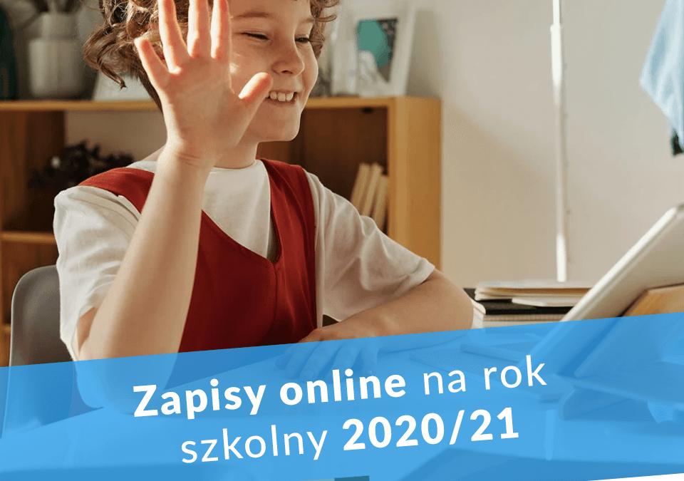 Zapisy online na rok szkolny 2020/21
