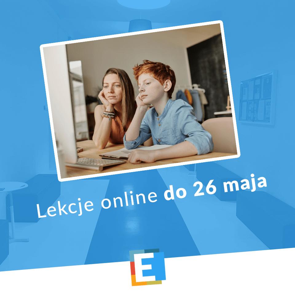 Lekcje online SP Edukacja Wrocław do 26 maja