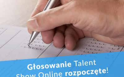 Głosowanie – pierwsze Talent Show Online!