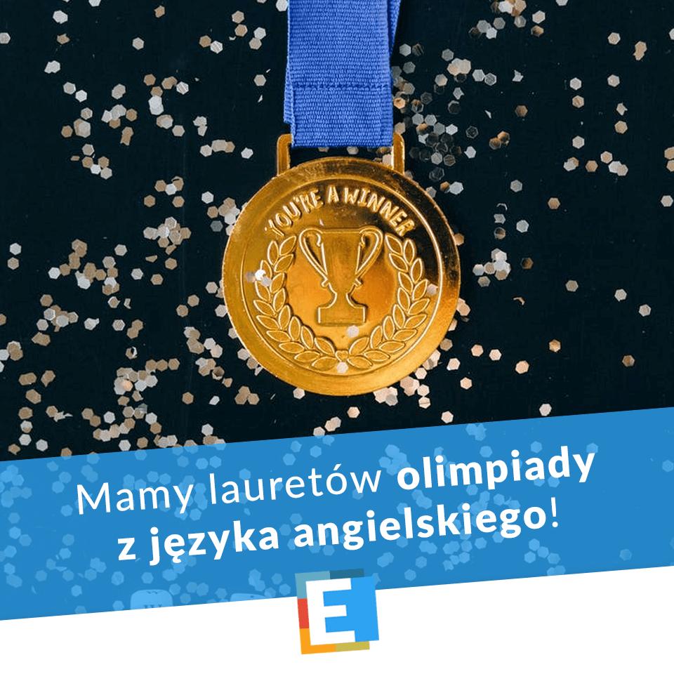 Laureaci ogólnopolskiej olimpiady Olimpus w SP Edukacja