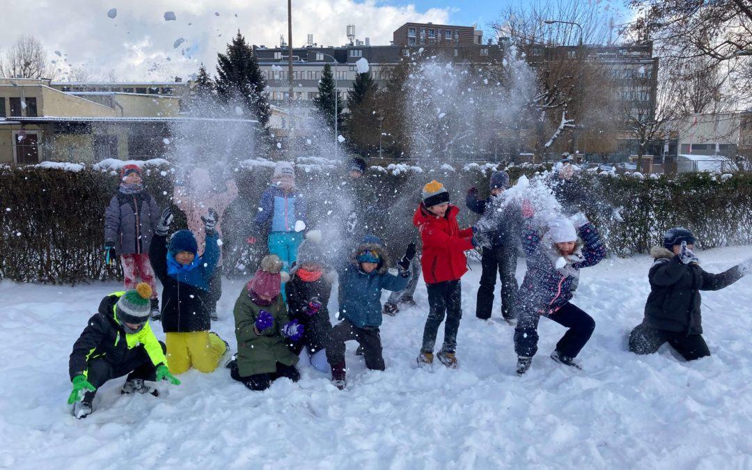 Śnieżne podboje klas 1-3