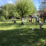 Zabawy w szkole podstawowej we Wrocławiu