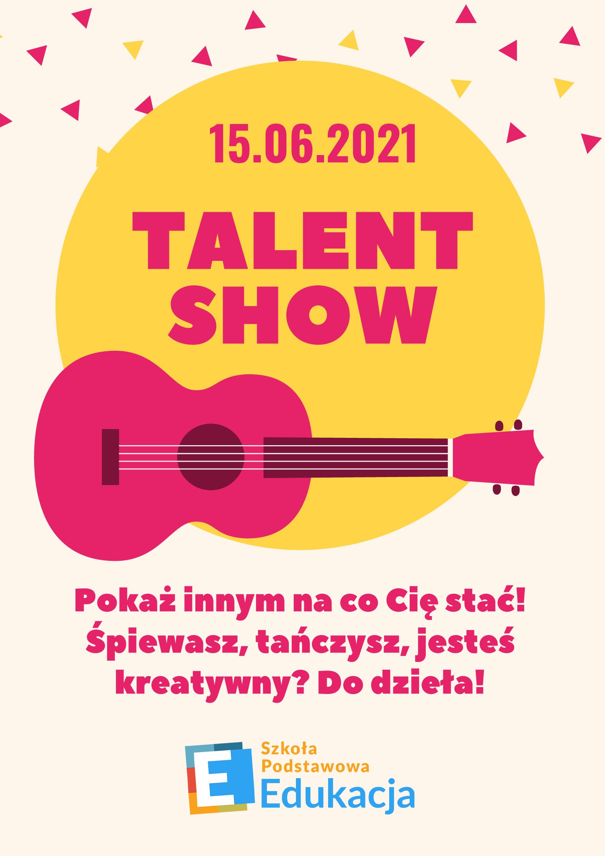 Plakat Talent Show