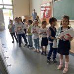 Dzieci na zakończeniu roku