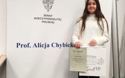 """Nasze dyplomy za konkurs """"List do taty"""""""